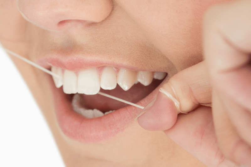 flossing improves overall health